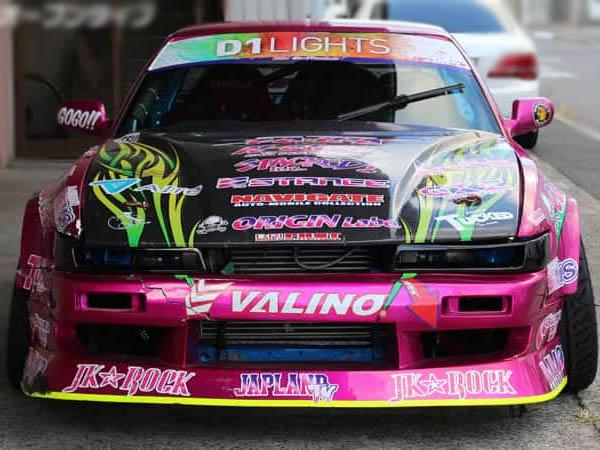 Headlight vents for Nissan Silvia PS13 - D-119-SET